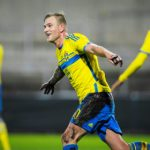 Swedish star's kickabout with young fan goes viral