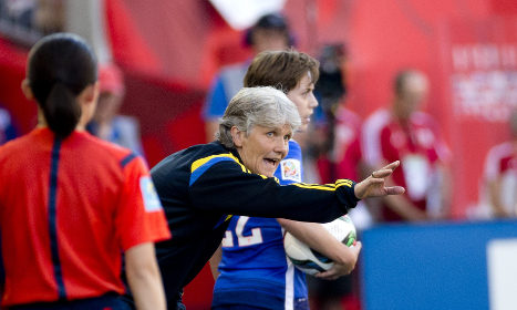 Sweden draw with USA in Women's World Cup
