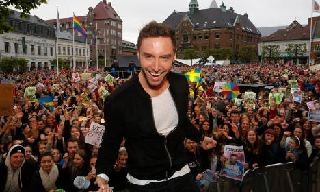 Sweden's Eurovision star sets global charts alight