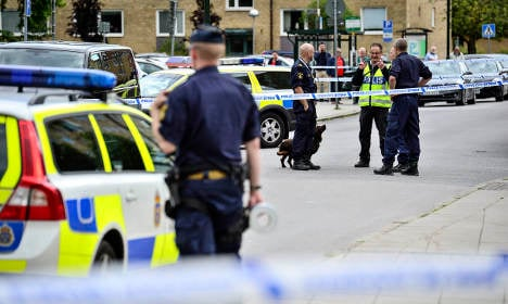 Shooting reported in southern Sweden