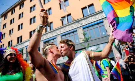 Swedes to tie the knot for free at next Pride party