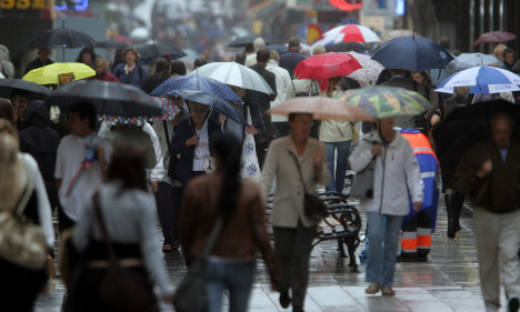 Sweden braced for third wet holiday in five weeks