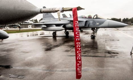 Swedish weapons exports in spotlight