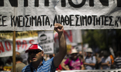 Worries Swedes will share Greek bailout bill