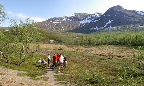 Tourists to get more help in Swedish mountains