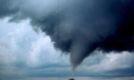 Rare tornadoes hit northern Sweden