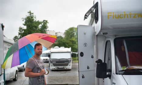 Warning of heavy rain and floods in Sweden