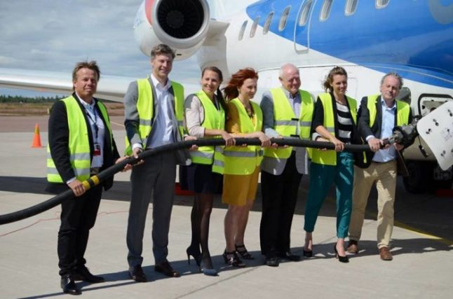 'Biofuels critical for climate-friendly flights'