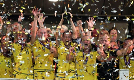 Sweden footballers claim another Euro triumph