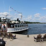The ferry at Nacka beach just outside Stockholm on July 15th.Photo: Elin Jönsson/The Local