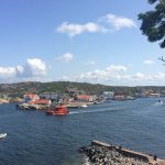 A lifeboat travelling past Marstrand on Sweden's west coast, snapped on July 18th.Photo: Maddy Savage/The Local