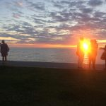 Sweden's long sunsets are stunning. The Local's Editor took this picture during the Almedalen political conference on the island of Gotland on July 2nd.Photo: Maddy Savage/The Local Sweden