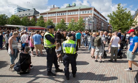 Reports Swedish rapist in hospital after attack