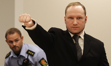 Swede stays crazy for Norway's mass killer