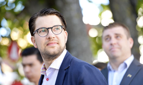 Sweden's nationalists lead polls for first time