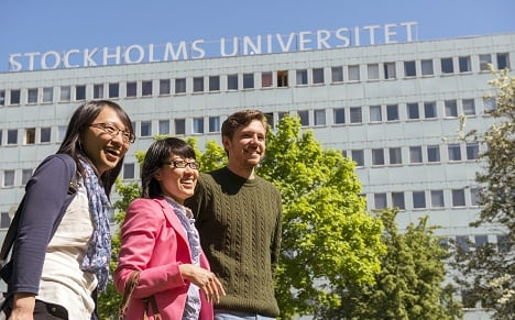 International students welcomed to Stockholm