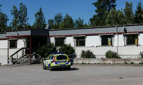 Two arson attempts on Swedish refugee centres