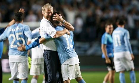 Tributes for Malmö after stunning play-off victory