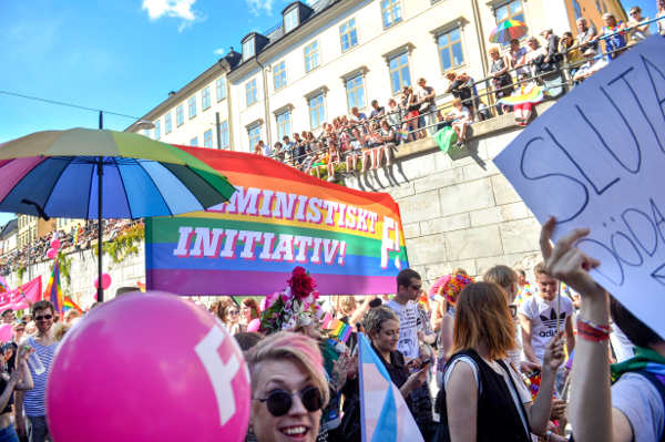 IN PICTURES: Tens of thousands join Pride Parades in Stockholm and Malmö