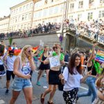Stockholm's annual Pride Week culminated in the Pride Parade on Saturday.Photo: Vilhelm Stokstad/TT