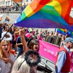 Stockholm's Pride Parade attracts hundreds of thousands of spectators and participants every year.Photo: Vilhelm Stokstad/TT