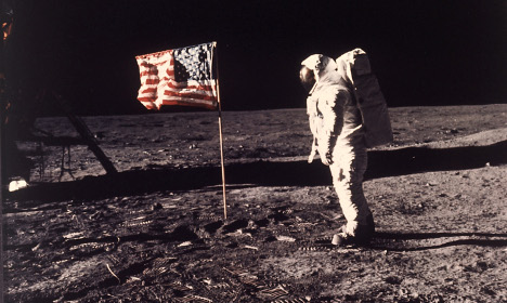 'Fake moon landing' claims lift off in Sweden