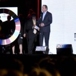 Swedish PM shares New York stage with Beyoncé