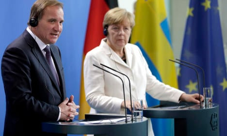 Sweden and Germany push for refugee sharing