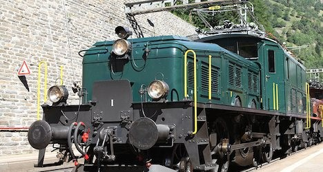 Swedish museum makes way for iconic train