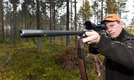 Sweden's annual elk hunt goes off with a bang