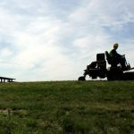 Swede arrested for drink driving on lawn mower