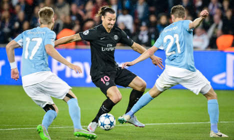 Zlatan books Malmö square for football party