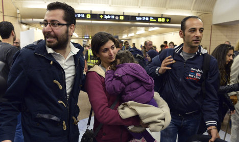 More Swedes 'want increase in refugees'