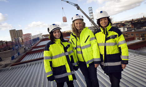 'The glass ceiling is still there in Sweden'