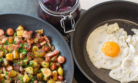 How to make a Swedish 'pyttipanna' fry-up