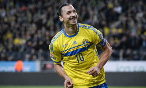 Zlatan sets eyes on first Golden Ball footy prize