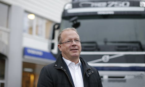 Unexpected profits jump for Sweden's Volvo