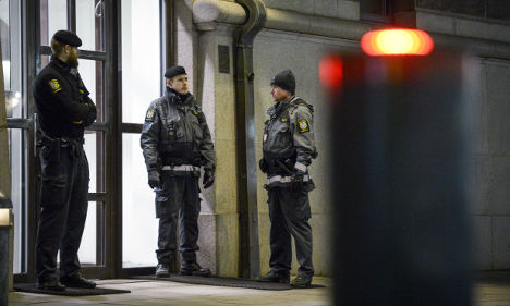 Sweden on 'high' terror alert for the first time