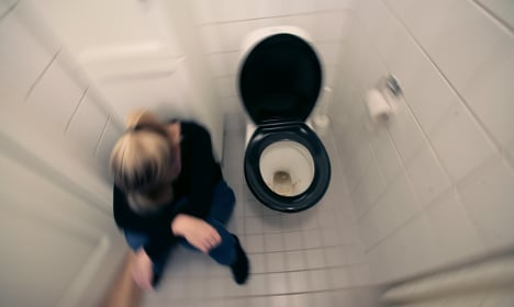 Swedish woman stuck in bathroom for a whole day