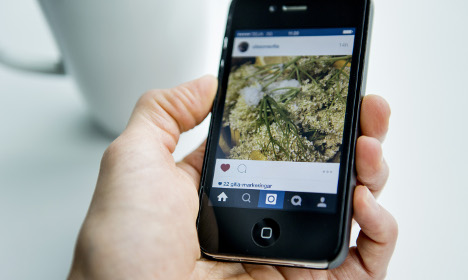 Tech-savvy Swedes share love of Instagram