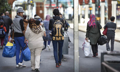 Weekly asylum claims top 10,000 in Sweden