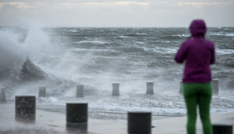 Southern Sweden braced for mighty Storm Gorm