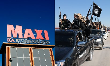 Swedish store's charity campaign in Isis mix-up