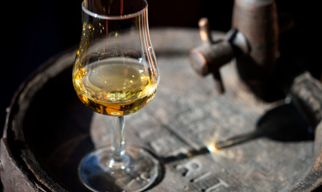 Swedish auction toasts most expensive whisky