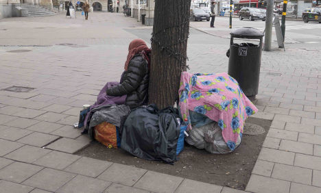 Police conduct 'secret' study of Roma beggars