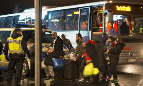 Refugees to be moved from Sweden by EU
