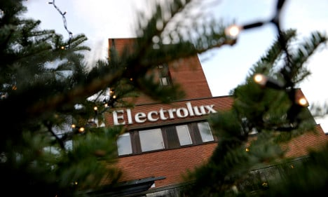 Job cuts for staff at Electrolux in Stockholm