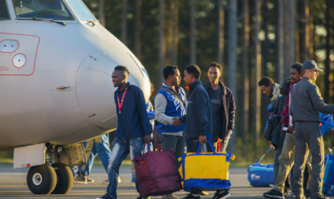 Swedes now want fewer refugees, poll says