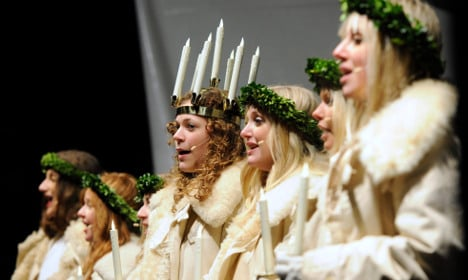 Six festive winter events in Sweden this week