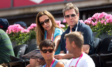 Sweden abuzz with Hugh Grant baby rumours